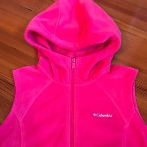 Columbia Hooded Fleece Vest